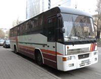 Редкий автобус с двигателем Skoda на дорогах Украины