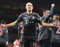 Лига Чемпионов: «Бавария» повторно поиздевалась над «Арсеналом»