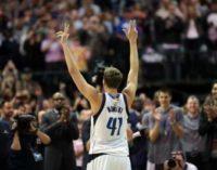 НБА: исторический день для Новицки, испорченный рекорд Уэстбрука
