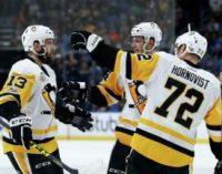 НХЛ: «Питтсбург» вышел в плей-офф, победы «Вашингтона» и «Миннесоты»