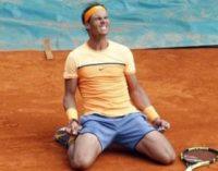 Надаль в десятый раз выиграл Мастерс в Монте-Карло