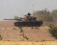 Турция привела в состояние повышенной боевой готовности войска на границе с Сирией