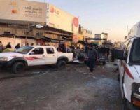В центре Багдада произошли два взрыва, более 20 погибших