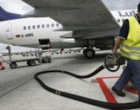 Импорт авиатоплива в Украину в 2017 году вырос в 2,3 раза