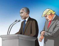 Лучшие карикатуры на Дональда Трампа