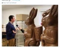 Прикол дня: сын Трампа дал интервью зайцу