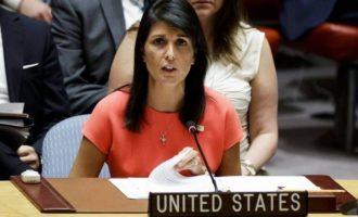 Постпред США при ООН призывает к борьбе против применения химоружия в мире