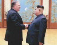 Помпео сообщил о письме Трампу от Ким Чен Ына