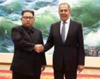 Глава МИД РФ Лавров встретился с Ким Чен Ыном