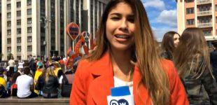 Домагався журналістку: російський фанат шокував поясненням за свій вчинок