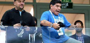 Ти — не найкращий: Марадона жорстко наїхав на Мессі після провалу з Хорватією