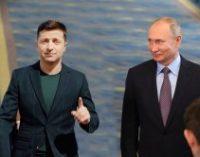 Песков заявил, что Зеленский и Путин при знакомстве пожали друг другу руки